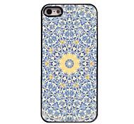 Yellow Flower Design Aluminium Hard Case for iPhone 5/5S