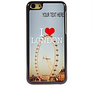 Personalized Case London Design Metal Case for iPhone 5C