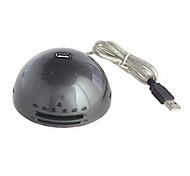 DTECH DT-4013 Helmet Extension Socket with 480Mbps USB HUB 2.0 Black