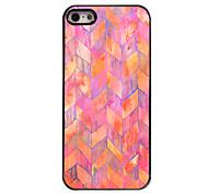 rosa Wellenform Design Aluminium-Hülle für das iPhone 4 / 4s