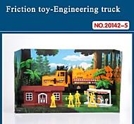 Hight auto giocattolo di qualità per i bambini del camion attrito impostato con strumenti il tema antincendio 20142-5