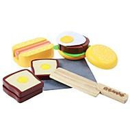 madera de caucho benho comida occidental establece papel que juega el juguete de madera