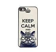Keep Calm and Be Cool Design  Aluminum Case for iPhone 5/5S