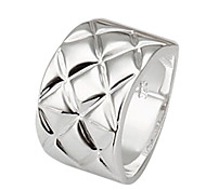 Personality Fashion High Quality Copper Plating Ms 925 Silver Ring