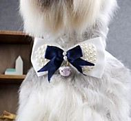 Dog Hair Accessories / Tie Spring/Fall - Blue - Wedding / Cosplay - Terylene