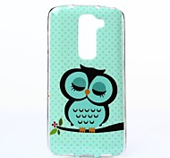Owl Pattern TPU Soft Case for LG G2 Mini