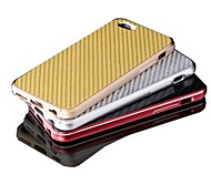 Surplus Wind®Luxury High Quality Aluminum Metal Carbon Fiber Material Cover Case for iPhone 6 Plus (Assorted Colors)