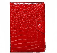 """cassa tablet casi universale 7 'con casi stand / corpo pieno 7 """"per le stampe di pelle di coccodrillo universale (colori assortiti)"""