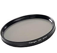 TIANYA 67mm CPL Circular Polarizer Filter for Nikon D7100 D7000 18-105 18-140 Canon 700D 600D 18-135mm Lens