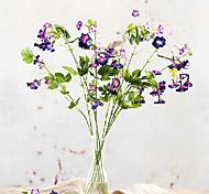 Beautiful Purple Emulational Trumpet Flower