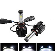 CONQUER® 2PCS  30W 3600Lumens 9005 High Power High Brightness Cree LED Headlight for Car