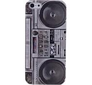 Lureme Fashion Radio Pattern Back Case for iPhone 5/5S