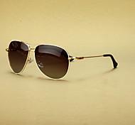 Customized Polarized Aviator Alloy Retro Prescription Sunglasses