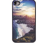 schöne Sachen Design Aluminiumkasten für iphone 4 / 4s