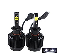 CONQUER® 2PCS  40W 3600Lumens H1 High Power High Brightness Cree LED Headlight for Car