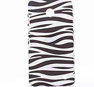 Attractive Zebra Style Pattern Plastic Hard Cover for Nokia N630
