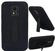 Samsung S5 I9600 compatible Design Spécial Plastique/TPU Etui avec support