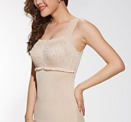 Summer Shapewear  Boneless Abdomen Drawing Push-Ups Breast Slimming Body Shaper Vest Beige Color Size XXXL