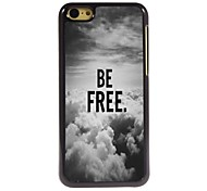 Be Free In The Sky Design  Aluminum Case for iPhone 5C