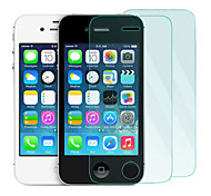2Pack 0.26mm Tempered Glass Screen Protector with Microfiber Cloth  for iPhone 4 / 4S