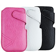 Side Opening Pattern PU Leather Pouches for iPhone 6 (Assorted Colors)