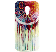 Wind Chime Pattern TPU Soft  Cover for Motorola Moto G2