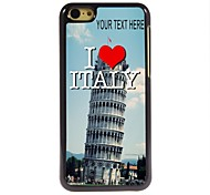 Personalized Case Italy Design Metal Case for iPhone 5C