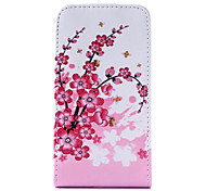 ameixa flor padrão caso de corpo inteiro para LG Optimus L7 II P710