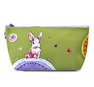 Makeup Storage Cosmetic Bag / Makeup Storage Animal / Cartoon 20*5*12 Green