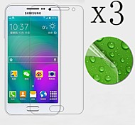 [3-Pack] High Transparency LCD Crystal Clear Screen Protector with Cleaning Cloth for Samsung galaxy A5