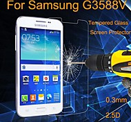 Angibabe 0.3MM 2.5D 9H Premium Tempered Glass Protector Film for Samsung G3588