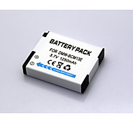 1250mAh 3.6V/3.7V DMW-BCM13E Camera Battery Pack for Panasonic Lumix DMC-FT5K DMC-TZ40R DMC-ZS30K