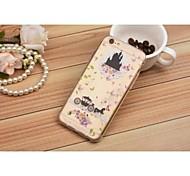 Cubierta Posterior - Gráfico/Diseño Especial/Transparente - para iPhone 6 Plus/iPhone 6 TPU )