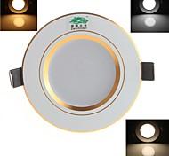 zweihnder Verdrahtung 5w 450lm 3000-7000k 20x5730 SMD LED 3-Modus Smart Dimming-Deckenleuchte (Wechselstrom 90-240V)