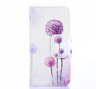 Painted Purple Dandelion Phone Case for iPhone 5/5S