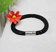 Fashion Simpleness   Drill  Handmade Bracelet