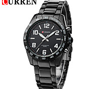 Men's Simple Style Dress Watch Japanese Quartz Stainless Steel Strap Cool Watch Unique Watch