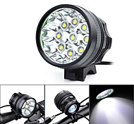 Marsing Headlamps / Bike Lights LED 4500-5500 Lumens 3 Mode Cree XM-L T6 18650 Waterproof / Rechargeable / Impact Resistant / High Power