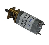 45RPM 13GA 12V 3mm Shaft Mini DC Geared Gear Box Motor for Smart Car