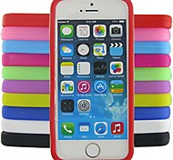 Jelly Silicone Case for iPhone 5/5S (Assorted Colors)