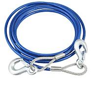 coche buddy® cable de remolque cable de acero con gancho