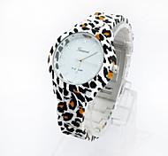 Relógio de pulso - Mulher - Quartzo - Analógico - Leopardo