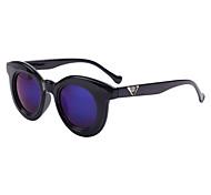 espejos de aleación de ronda gafas de sol retro