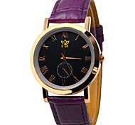 Men's Round  Dial Casual  Watch Silicone Strap  Japanese Quartz Watch Wrist Watch (Assorted Colors)