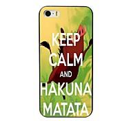 caso projeto matata hakuna difícil para iPhone 4 / 4S