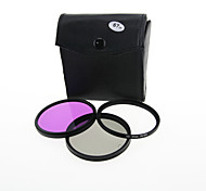 Camera Lens Filter 67mm CPL UV FLD Filter Kit for Canon Nikon 18-135 18-105 67mm Lens