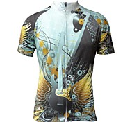 Jesocycling® Men's New Design Spring & Autumn Polyester Short Sleeve Cycling Jersey