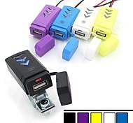neue Motorradlenker USB-Ladegerät Stromsteckdosenadapter 12v wasserdicht