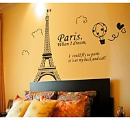 The Eiffel Tower Wall Stickers