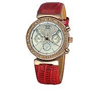 Women's Bracelet Watch Quartz Analog Bohemian Three Sub-Dials